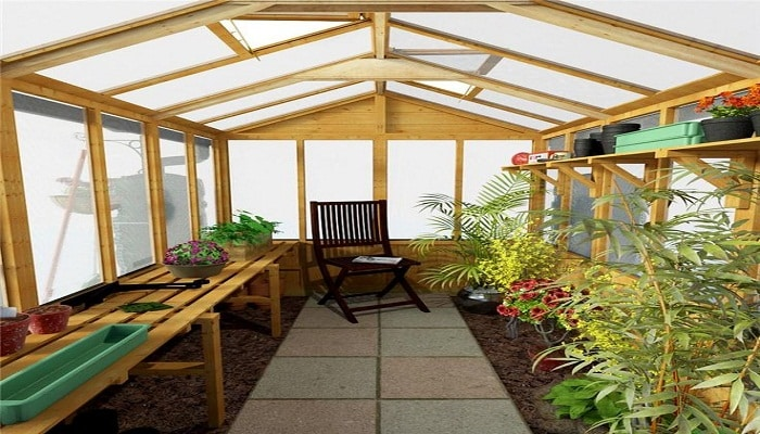 Los invernaderos de policarbonato y su construcci n - Invernadero en terraza ...